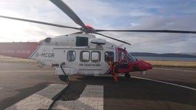 Coastguard Augusta westland stock photos