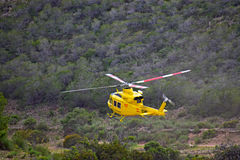 Rescue Helicopter Mountain Rescue Royalty Free Stock Images