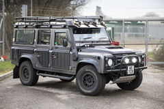 Rescue LandRover Royalty Free Stock Photo