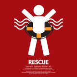 Rescue. Life Buoy Rescue Vector Illustration vector illustration