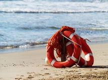 Free Rescue Life Rings Stock Image - 9949591