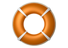 Rescue Lifebuoy Orange Royalty Free Stock Photography