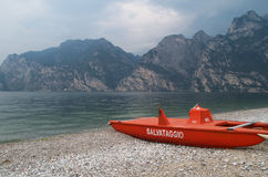 Rescue lifeguard boat Stock Photo