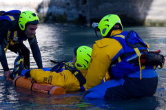 Rescue mission Stock Photography