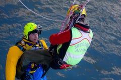 Rescue mission Stock Image