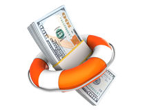 Rescue money Stock Photography