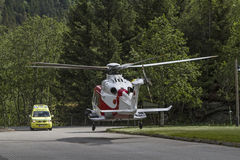Rescue operation Stock Images