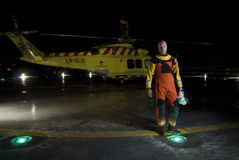 Rescue paramedic Stock Images
