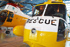 The rescue plane Stock Photography