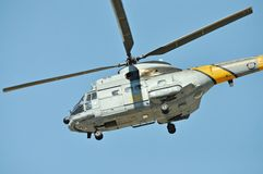 Rescue SAR helicopter Stock Image