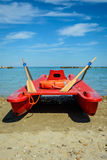 Rescue sea boat Stock Photography