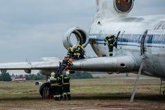 Rescue services training Stock Photos