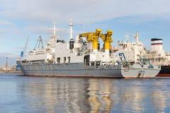 Rescue ship Stock Image