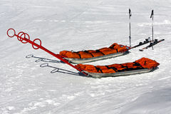 Rescue sled Royalty Free Stock Image
