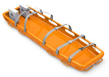 The rescue stretcher. 3d generated picture of a rescue stretcher stock illustration