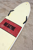 Rescue surfboard Royalty Free Stock Images