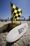 Rescue Surfboard Station Royalty Free Stock Image