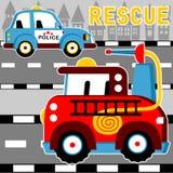 Rescue team Stock Image