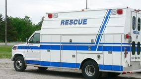 Rescue Vehicle Royalty Free Stock Photography
