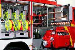 Rescue vehicle detail Royalty Free Stock Photo