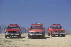 Rescue vehicles Royalty Free Stock Photos