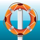 Rescue wheel Stock Image