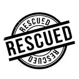 Rescued rubber stamp Stock Photography