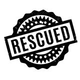 Rescued rubber stamp Royalty Free Stock Photo