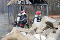 Rescuers Stock Image
