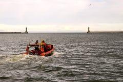 Rescuers marine Stock Images