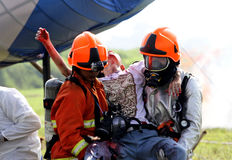 Rescuers Stock Images