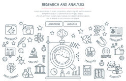 Research and Analysis Concept Stock Photo