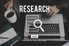 Research Analysis Discovery Investigation Concept Royalty Free Stock Images