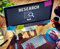 Research Analysis Discovery Investigation Concept. Research Search Analysis Discovery Investigation Stock Photography