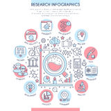 Research and Analysis Infographics Royalty Free Stock Photo