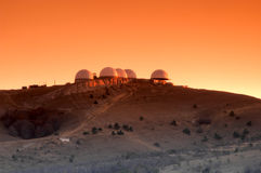 Research center on Mars Royalty Free Stock Photography