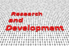 Research and development Stock Image