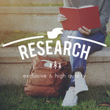 Research Discovery Explanation Information Concept Royalty Free Stock Photos