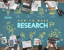 Research Discovery Exploration Feedback Report Concept. Business People Discuss Research Discovery Exploration Feedback Report Royalty Free Stock Photography