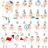 Research Doctor old men_2 Stock Photo