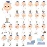 Research Doctor old men_1 Stock Image