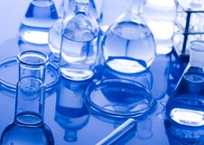 Research and experiments Stock Photo