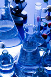 Research and experiments. A laboratory is a place where scientific research and experiments are conducted. Laboratories designed for processing specimens, such Royalty Free Stock Photo