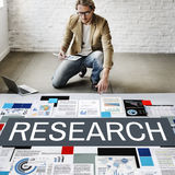 Research Exploration Facts Feedback Information Concept Stock Photos