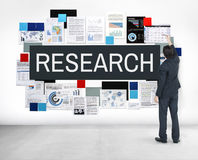 Research Exploration Facts Feedback Information Concept Royalty Free Stock Photography