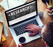 Research Information Knowledge Question Report Concept Stock Photography