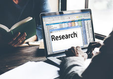 Research Information Knowledge Question Report Concept Stock Photos