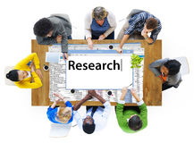 Research Information Knowledge Question Report Concept Royalty Free Stock Photography