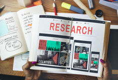 Research Information Knowledge Question Report Concept Royalty Free Stock Photos