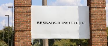 Research Institute. Research comprises `creative work undertaken on a systematic basis to increase the stock of knowledge, including knowledge of humans, culture Royalty Free Stock Photography